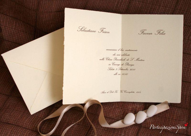 Art. 1006 Partecipazioni Sposi, stampa partecipazioni matrimonio