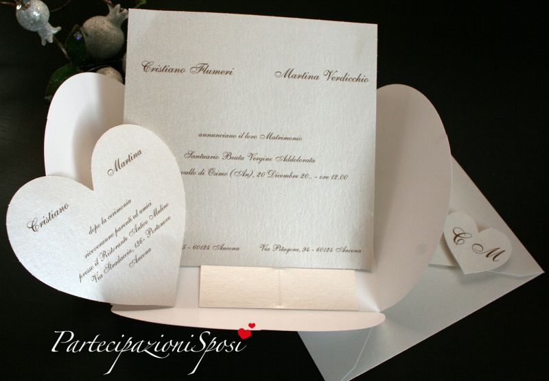 Art 96004 partecipazioni sposi stampa partecipazioni matrimonio - Piastrelle 15x15 bianco lucido ...