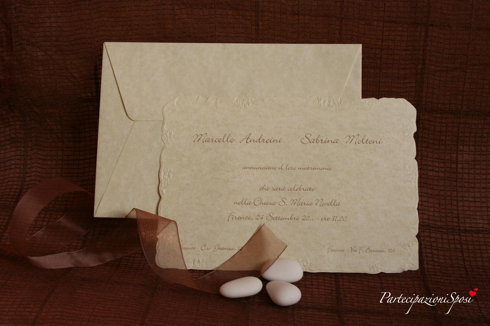 Art 007 partecipazioni sposi stampa partecipazioni for Inviti per matrimonio