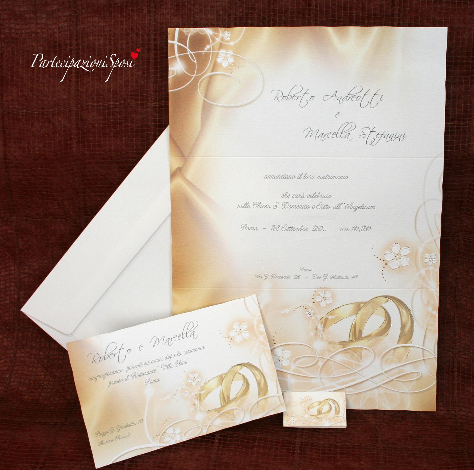 Auguri Matrimonio Esempi : Partecipazioni sposi stampa nozze inviti