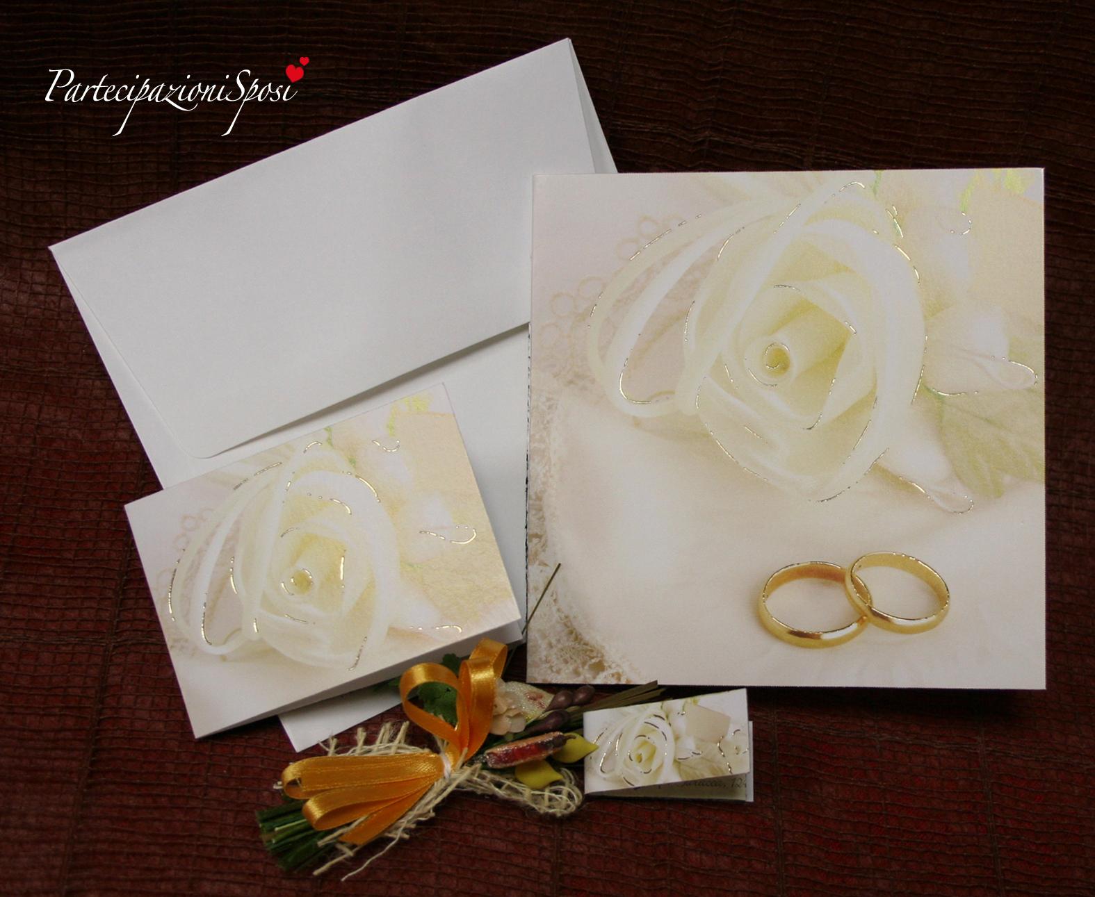 Stampa Partecipazioni Matrimonio.Partecipazioni Sposi Stampa Partecipazioni Nozze Inviti