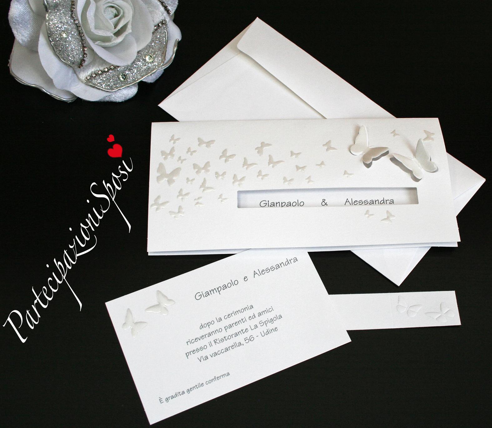 Partecipazioni Matrimonio Udine.Promo 06 Partecipazioni Sposi Stampa Partecipazioni Matrimonio