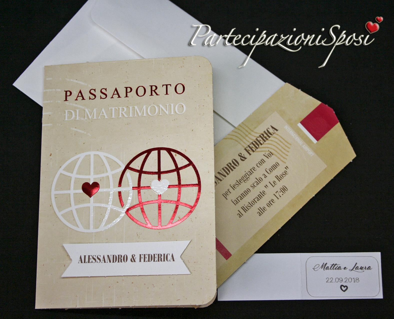 Partecipazioni Matrimonio Viaggio.Art 087 Partecipazioni Sposi Stampa Partecipazioni Matrimonio