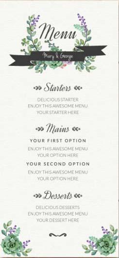 Menu Matrimoni Alcuni Consigli